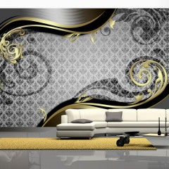 Artgeist Fototapete - Golden snail