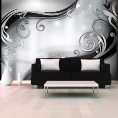 Artgeist Fototapete - Grey wall