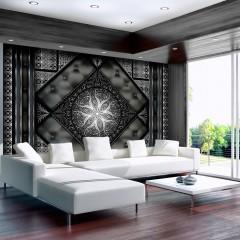 Artgeist Fototapete - Black mosaic