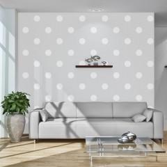 Artgeist Fototapete - Cheerful polka dots
