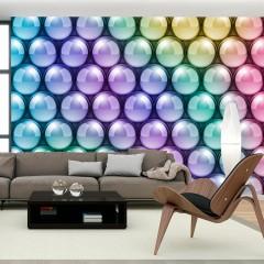 Artgeist Fototapete - Colorful Vertigo