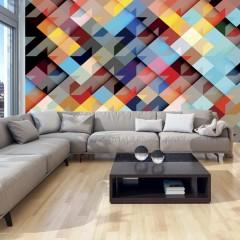 Artgeist Fototapete - Colour Patchwork