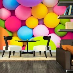 Artgeist Fototapete - Colourful Balls