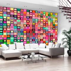 Artgeist Fototapete - Colourful Boxes