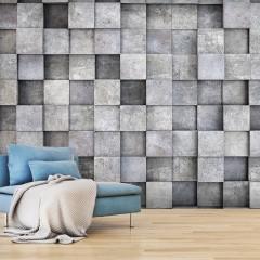 Artgeist Fototapete - Concrete Cube
