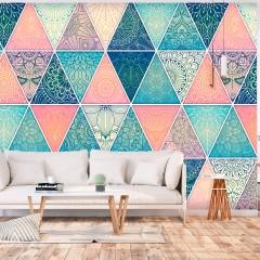 Artgeist Fototapete - Oriental Triangles