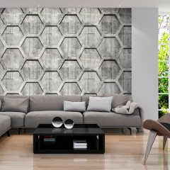 Artgeist Fototapete - Platinum cubes