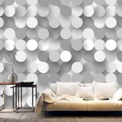 Artgeist Fototapete - Silver Net