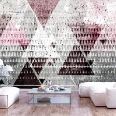 Artgeist Fototapete - Triangles