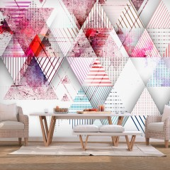 Artgeist Fototapete - Triangular World