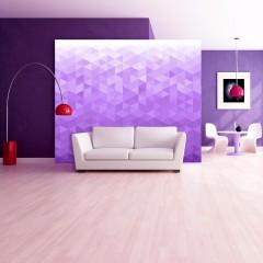Artgeist Fototapete - Violet pixel