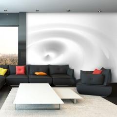 Artgeist Fototapete - White Swirl