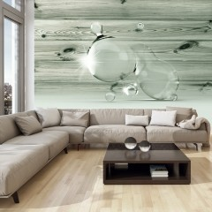 Artgeist Fototapete -  Beauty in Drops of Water