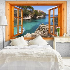 Artgeist Fototapete - Mediterranean Landscape