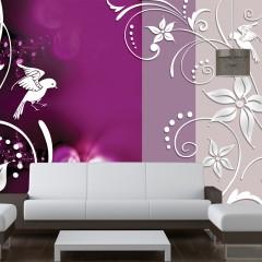 Artgeist Fototapete - Floral fantasy
