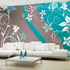Artgeist Fototapete - Floral fantasy III