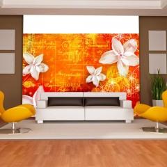 Artgeist Fototapete - Floral notes II