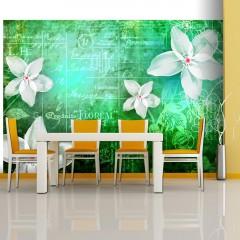 Artgeist Fototapete - Floral notes III