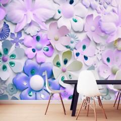 Artgeist Fototapete - Purple Sweetness