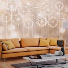 Artgeist Fototapete - Radiant Flowers
