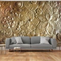 Artgeist Fototapete - Virtuosity of Gold