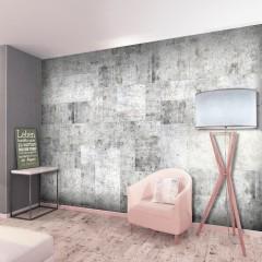 Artgeist Fototapete - Concrete: Grey City