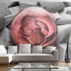 Artgeist Fototapete - Stone rose