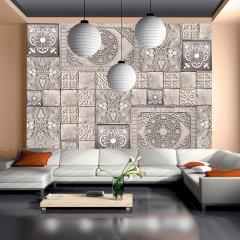 Artgeist Fototapete - Stone tile