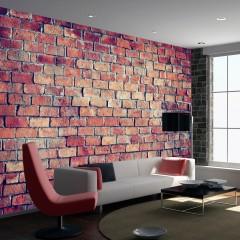 Artgeist Fototapete - Brick - puzzle