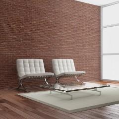 Artgeist Fototapete - Brick - simple design