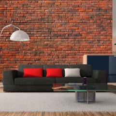 Artgeist Fototapete - Design: Ziegelsteine