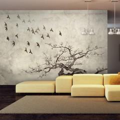 Artgeist Fototapete - Flock of birds