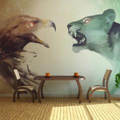 Artgeist Fototapete - Interspecies clash