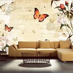 Artgeist Fototapete - Melodies von Schmetterlingen