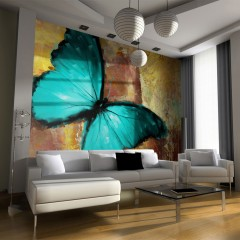 Artgeist Fototapete - Painted butterfly