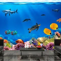 Artgeist Fototapete - Unterwasserreich