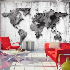Artgeist Fototapete -  World in Shades of Gray