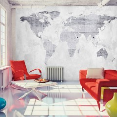 Artgeist Fototapete - Concrete Map