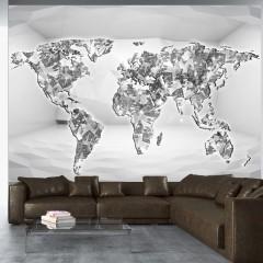 Artgeist Fototapete - Diamond map