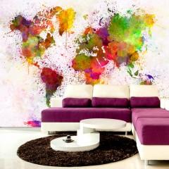 Artgeist Fototapete - Dyed World