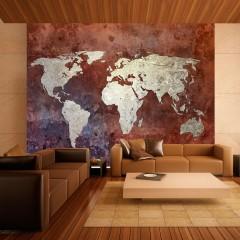 Artgeist Fototapete - Eiserne Kontinente