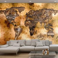 Artgeist Fototapete - Opalescent Continents