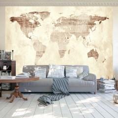 Artgeist Fototapete - Precious map