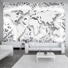 Artgeist Fototapete - The world of newspapers