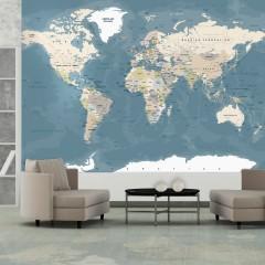 Artgeist Fototapete - Vintage World Map