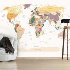 Artgeist Fototapete - World Map