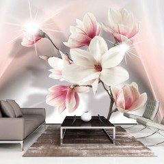 Basera® Fototapete Magnoliamotiv b-C-0118-a-b, Vliestapete