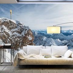 Artgeist XXL Tapete - Winter in Zugspitze