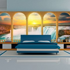 Artgeist XXL Tapete - Dream about Niagara Falls