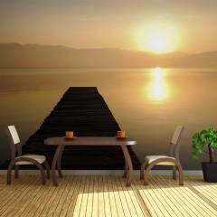 Basera® Fototapete Sonnenuntergangsmotiv 100703-7, Vliestapete